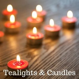 Tealights and Candles
