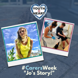 Carers Week jos story of being a parent to a CHD young person